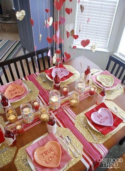 valentine dinner table decorations valentine home decor ideas
