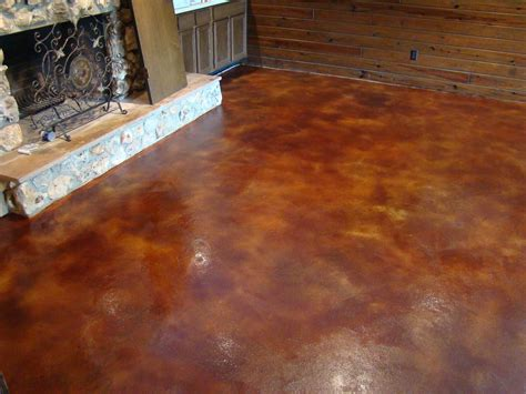 concrete floor stain colors etched in designs orlando fl stained concrete