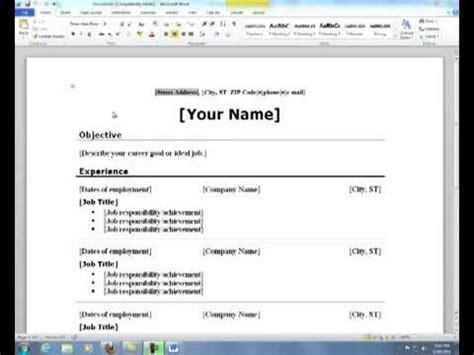 resume format resume cover letter creator
