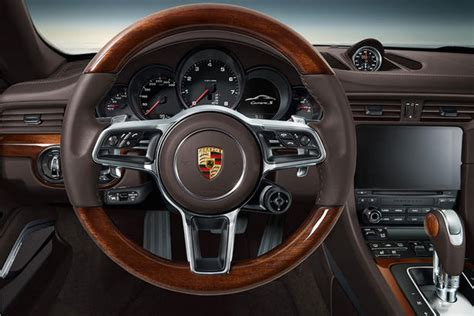 porsche 911 interior porsche 911 gets exclusive interior wood trim