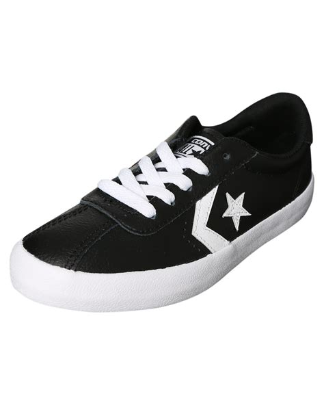 Converse Breakpoint Leather White Black converse breakpoint leather shoe black white surfstitch