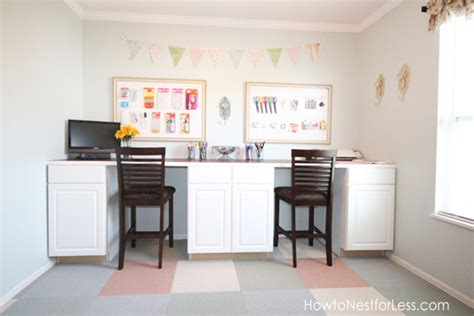 craft room desk craftaholics anonymous 174 craft room tour with how to nest