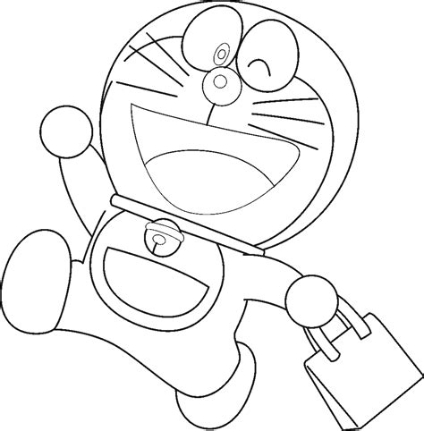 doraemon free coloring pages
