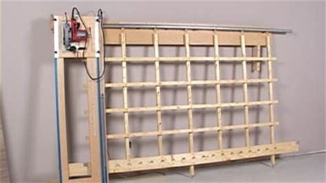 Here Panel Saw Woodworking Plan Free
