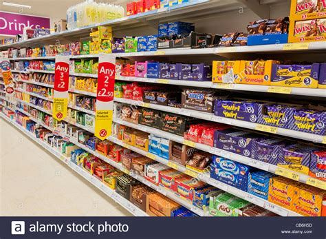 Ovaltine Swiss By Sweet N Candies chocolates and on shelves in a tesco store stock