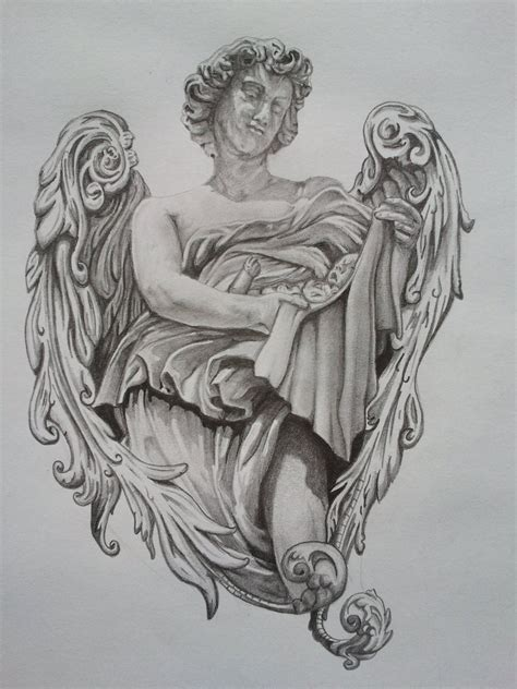 angel and cherub tattoos designs cherub tattoos