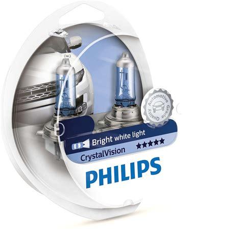 Lu Philips Blue Vision H4 crystalvision headlights 12342cvsm philips