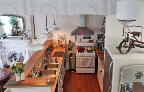 Remodeled Kitchen Ideas my houzz antiques and curio items add interest to a