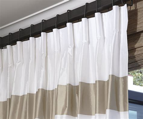 drapery pleats drapery pleat styles