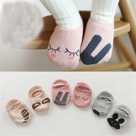 Kaos Kaki Fur Animal Untuk Bayi kaos kaki bayi pattern size m gray jakartanotebook