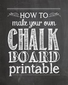 Free Chalkboard Template by How To Make Your Own Chalkboard Printables How To Nest