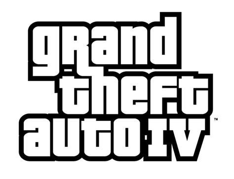 Grand Theft Auto 4 Logo by Gta 4 Les Chiffres Kapeos