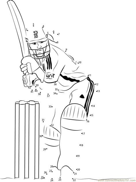 england cricket dot  dot printable worksheet connect