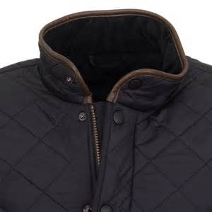 barbour s powell quilted jacket navy free shipping