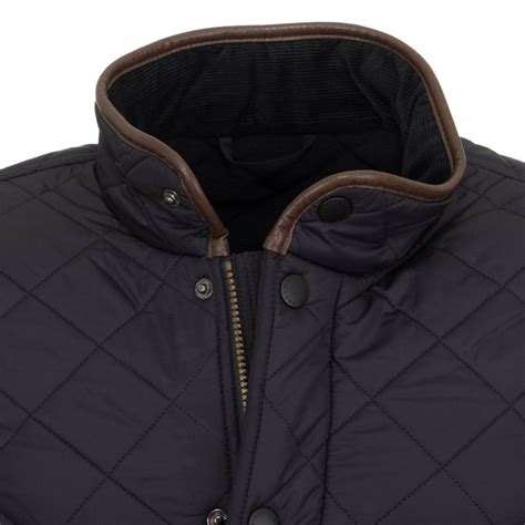 Barbour Quilted Mens Jacket barbour s powell quilted jacket navy free shipping