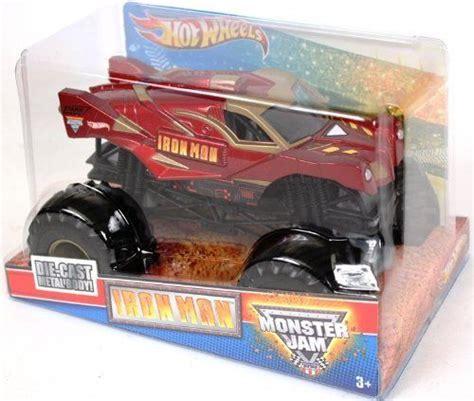 mini monster jam truck toys wheels monster jam 1 24 scale iron man http www