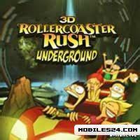 java themes peperonity 3d rollercoaster rush underground 360x640 nokia n97