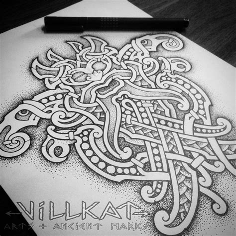 viking art tattoo designs mammen odin mask by villkat arts ideas