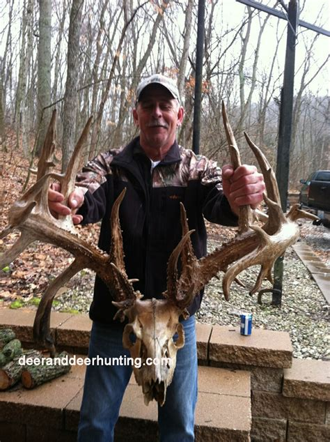 Records In Missouri New World Record Nontypical Buck From Missouri