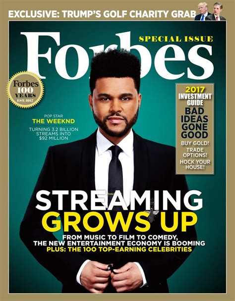 forbes video the weeknd covers forbes magazine hiphop n more