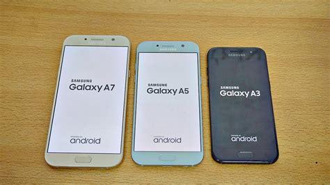 Samsung A8 Vs A5 samsung galaxy a7 vs a5 vs a3 2017 speed test 4k
