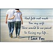 I Love You Messages For Wife Quotes Her