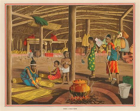 inside a zulu home original macmillan poster by alex