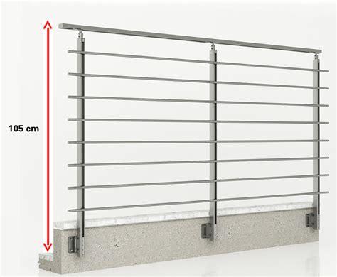 altezza ringhiera balcone ringhiera in alluminio parapetto in alluminio per balcone