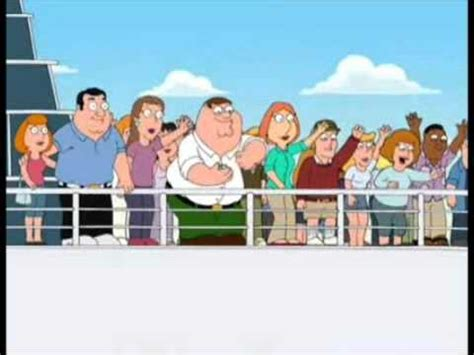peter griffin boat peter says bye for 10 minutes youtube