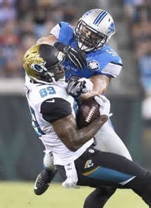 jaguars tight ends jaguars offense impressive against lions in likely