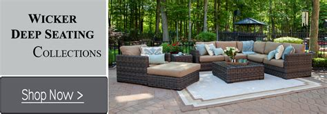 wicker seating patio furniture shop now luxury outdoor furniture by open air lifestyles