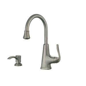 pfister pasadena single handle bar faucet in slate f 072