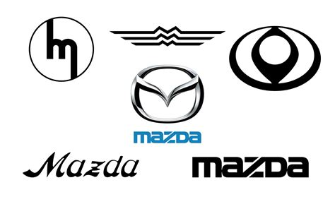 mazda logos mazda logos through the ages