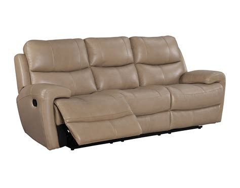 Baxter 6 Piece Top Grain Leather Reclining Modular Top Grain Leather Sectional Sofas
