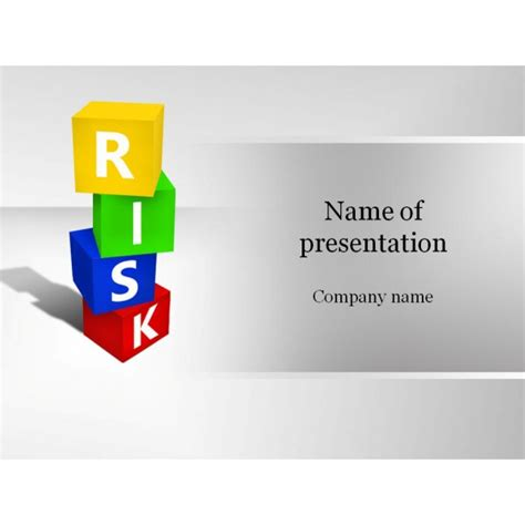 ppt templates for risk risk boxes powerpoint template background for presentation