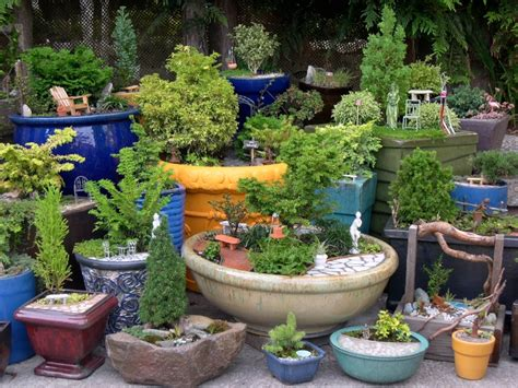 Pots In Gardens Ideas Indoor And Outdoor Container Ideas For Miniature Gardening The Mini Garden Guru From