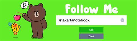 jakartanotebook resmi hadir di line jakartanotebook