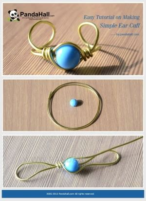 how to make steunk jewelry tutorial free patterns on a simple ear cuff with wire in 2