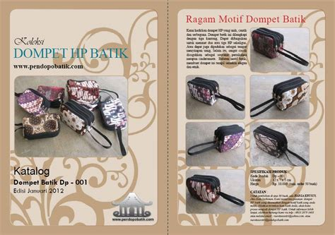 Dompet Hp Saku Dp 002 dompet batik pendopo batik
