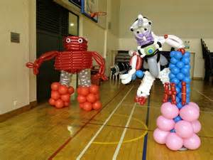 Home Party Decoration singapore balloon robot that balloons