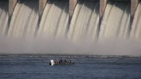 And The Floodgates Been Opened by Bagnell Dam Floodgates Open
