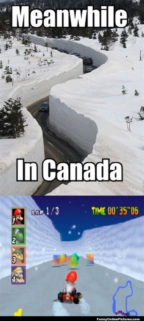 Funny Winter Memes - canadian winter funny picture