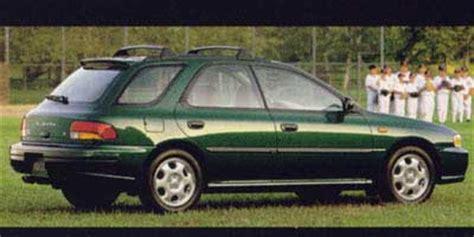 1998 Subaru Impreza Wagon 1998 Subaru Impreza Pictures Photos Gallery Green Car