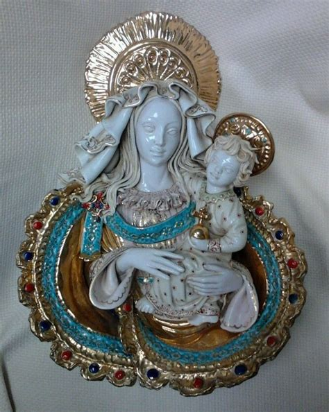 eugenio pattarino student p marioni mary madonna child jesus figurine italy madonna