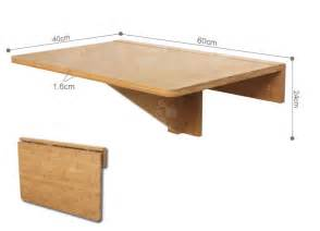 Folding Wall Dining Table 100 Bamboo Wall Mounted Drop Leaf Folding Kitchen Dining Table Desk Fwt031 Uk Ebay