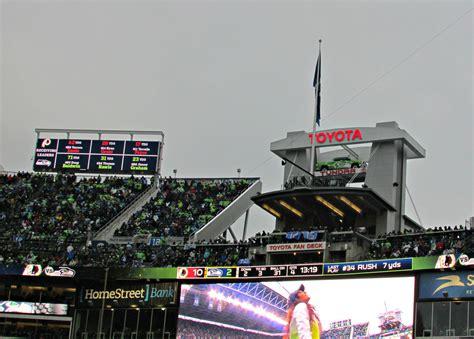 toyota fan deck centurylink field centurylink field seattle seahawks stadium journey
