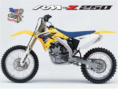 2006 Suzuki Rmz 250 2006 Suzuki Rm Z250 Moto Zombdrive