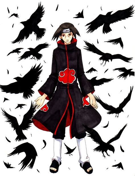 itachi crows tattoo www imgkid com the image kid has it