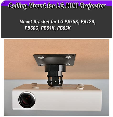 Lg Mini Projector Pb 62g lg mini projector mount bracket ceiling bracket for pb63k