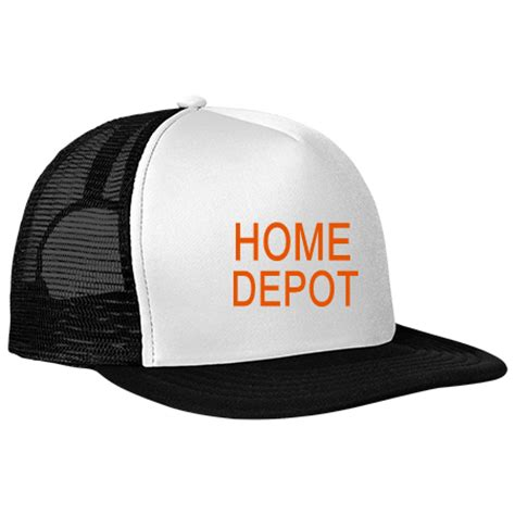 the home depot home depot neon flat bill snapback
